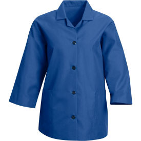 Red Kap® Women's Smock 3/4 Sleeve Royal Blue Regular-S - TP31