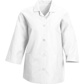 Red Kap® Women's Smock 3/4 Sleeve White Regular-2XL - TP31