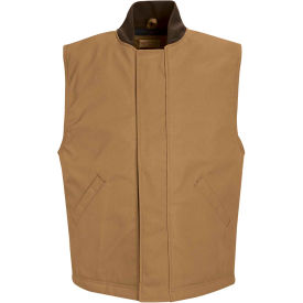 Red Kap® Blended Duck Insulated Vest Regular-S Brown Duck VD22