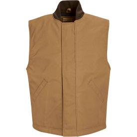 Red Kap® Blended Duck Insulated Vest Regular-2XL Brown Duck VD22