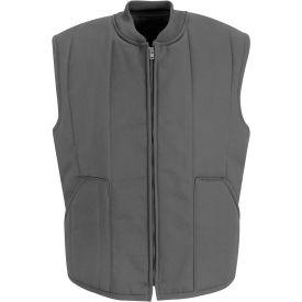 Red Kap® Quilted Vest Long-L Charcoal VT22
