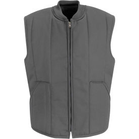 Red Kap® Quilted Vest Regular-XL Charcoal VT22