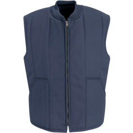 Red Kap® Quilted Vest Long-2XL Navy VT22