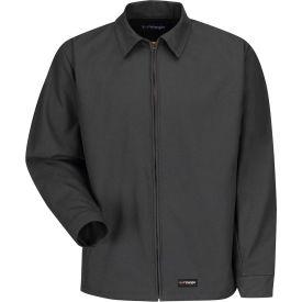 Wrangler® Men's Canvas Work Jacket Charcoal WJ40 Regular-L WJ40CHRGL