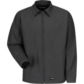 Wrangler® Men's Canvas Work Jacket Charcoal WJ40 Regular-S WJ40CHRGS