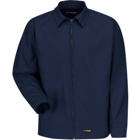 Wrangler® Men's Canvas Work Jacket Navy WJ40 Regular-S WJ40NVRGS
