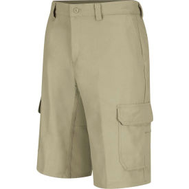 Wrangler® Men's Canvas Functional Cargo Short Khaki 44x12 - WP90KH4412