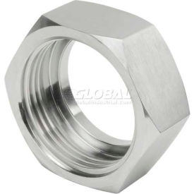 "VNE 3A Series 1"" Hex Nut, T304 Stainless"