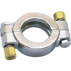 """VNE 3A Series 1-1/2"""" High Pressure Clamp, 304/T316L Stainless, Clamp Connection"""