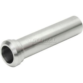 """VNE 3A Series 3"""" Tygon Hose Adapter, 304/316L Stainless, Plain Bevel Ferrule Connection"""