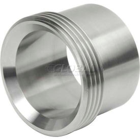 "VNE 3A Series 2-1/2"" Medium Ferrule, 304/316L Stainless, Threaded Bevel Ferrule Connection"