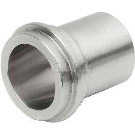 "VNE 3A Series 1-1/2"" Medium Ferrule, T316L Stainless, Threaded Bevel Ferrule Connection"