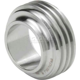 "VNE 3A Series 3"" Short Ferrule, 304/316L Stainless, Threaded Bevel Ferrule Connection"