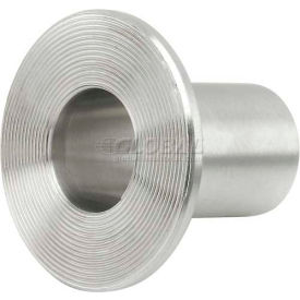 """VNE 3A Series 6"""" Lap Joint Stub End, 304/T316L Stainless, Weld Connection"""