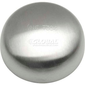 """VNE 3A Series 2-1/2"""" Cap, 304/T316L Stainless, Weld Connection"""