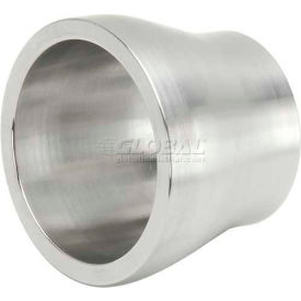 "VNE 3A Series 1-1/2"" x SCH 10"" Transition Piece, 304/T316L Stainless, Weld X Schedule 10 Connection"