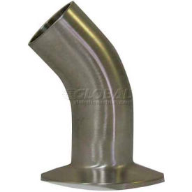 VNE E2KC-6L2.0 3A Series 2 45 Degree Elbow, 304/T316L Stainless, Weld x Clamp