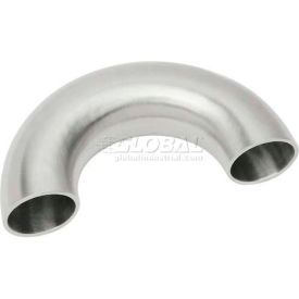 VNE E2WU-6L6.0 3A Series 6 180 Degree U-Bend, 304/T316L Stainless, Weld
