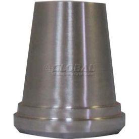 3A 1-1/2x1 Concentric Reducer, 304/T316L SS, Plain Bevel Ferrule x Weld