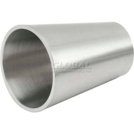 VNE E31WW1.5 x 1.0 3A Series 1-1/2 x 1 Concentric Reducer, 304/T316L Stainless, Weld