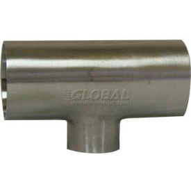 VNE E7RWWW2.5 x 2.0 3A Series 2-1/2 x 2 x 2-1/2 Reducing Tee, 304/T316L Stainless, Weld