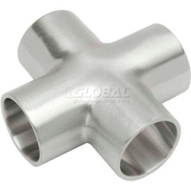 VNE E9WWWW4.0 3A Series 4 Cross, 304/T316L Stainless, Weld