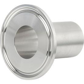 VNE EG14AM71.5 3A Series 1-1/2 Medium Ferrule, 304/T316L Stainless, Clamp