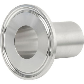 VNE EG14AM76.0 3A Series 6 Medium Ferrule, 304/T316L Stainless, Clamp