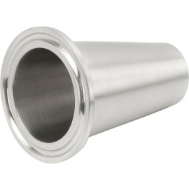 VNE EG14WL-6L10.0 3A Series 10 Long Ferrule, 304/T316L Stainless, Clamp