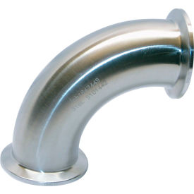 VNE EG2C-6L3.0 3A Series 3 90 Degree Elbow, 304/T316L Stainless, Clamp