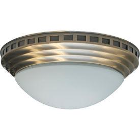 NuVent® Bath Fan With Antique Brass Decorative Dome - 100 CFM