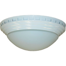 NuVent® Bath Fan With White Decorative Dome - 110 CFM