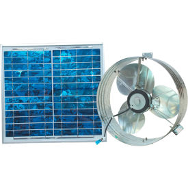 Ventamatic® VX2515SOLUPS Solar Powered Gable Mount Attic Vent