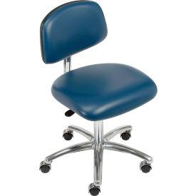 Clean Room Chair - Vinyl - Imperial Blue