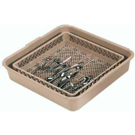 "Vollrath, Full Tub And Traex Open Rack Soak System, 1397, Beige, 24-1/2"" X 24-3/8"" X 5-1/4"""