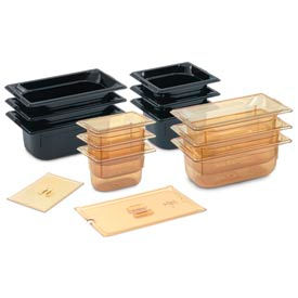 1/4 Solid Super Pan 3® Cover - Amber - Pkg Qty 6