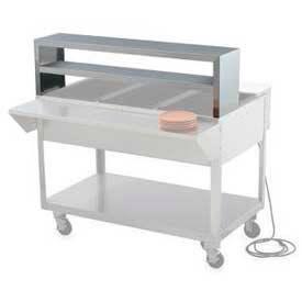 "Servewell® Double Deck Overshelf 76"""