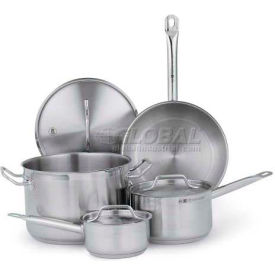 Vollrath 3822 - Optio Deluxe Cookware Set, 7-Pieces, Stainless Steel, Induction Ready