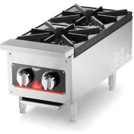 "Vollrath, Cayenne 12"" Gas Hot Plate, 40736, 4 Burner, 52000 BTU by"