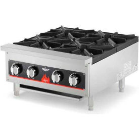 "Vollrath, Cayenne 24"" Gas Hot Plate, 40737, 4 Burner, 104000 BTU by"