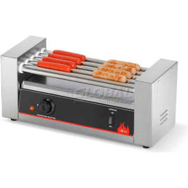 Vollrath, 12 Hot Dog Roller Grill, 40820, 5 Rollers, 400 Watts by