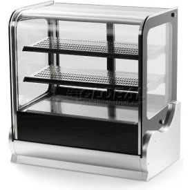 """Vollrath, Display Cabinet, 40862, 36"""" Cubed Glass, Refrigerated"""