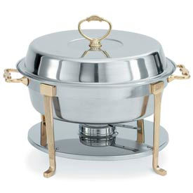 Classic Brass Round Chafer by