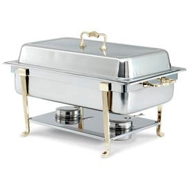 Classic Brass Oblong Chafer