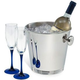 Wine Bucket Polished Stainless Steel with Handles