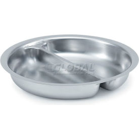 Divided Round Food Pan For 4.2 Qt Chafer - Pkg Qty 5