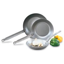 "Carbon Steel Fry Pan 8-1/2"" - Pkg Qty 12"