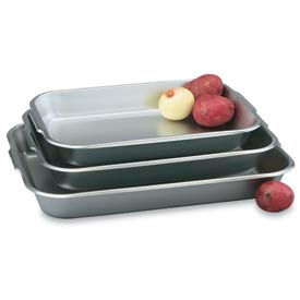 Stainless Bake And Roast Pan 6-1/2 Qt. - Pkg Qty 3