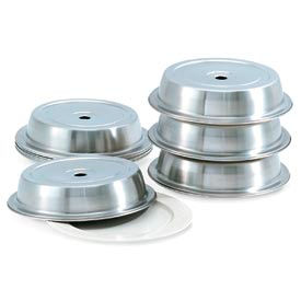 """Vollrath 62312 - Stainless Steel Plate Cover 10-9/16"""" To 10-5/8"""" - Pkg Qty 12"""