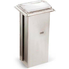 Vollrath, Napkin Dispenser, 6525-28, In-Counter, Chrome